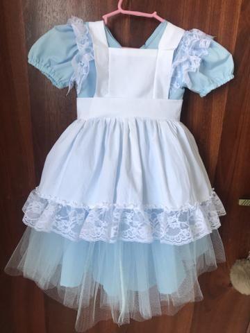Fantasia/ vestido Alice no país das maravilhas - Foto 2