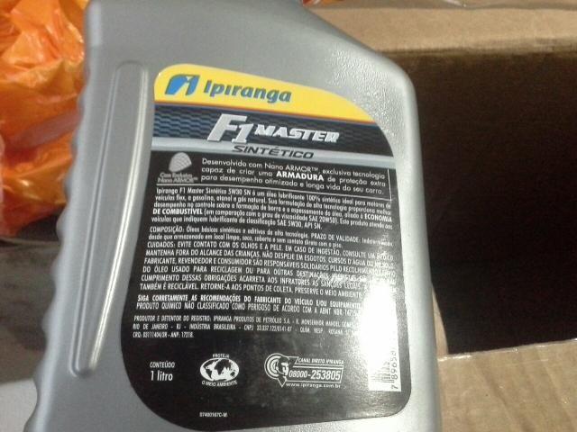 Óleo lubrificante motor f1 master 5w 30 sintético - Foto 2