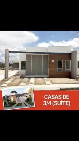 Ultimas unidade Casas de Milão 3-quartos c/Suíte;100%laje, Aceita FGTS, no bairro SIM