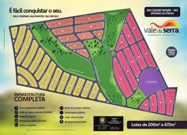 Vale da Serra Loteamento Caldas Novas - Lote a Venda no bairro Estancia Boa Vist... - Foto 8