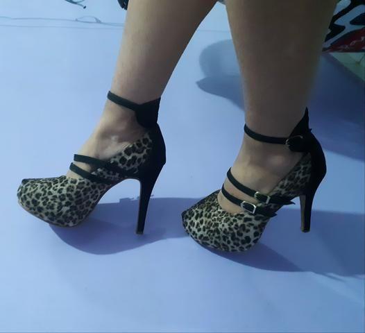 b77c7fe97 Scarpin salto alto animal print - Roupas e calçados - Cremação ...