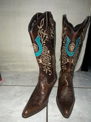 760dca9b84 Bota texana - Roupas e calçados - Cambuí, Itapetininga 609455758 | OLX