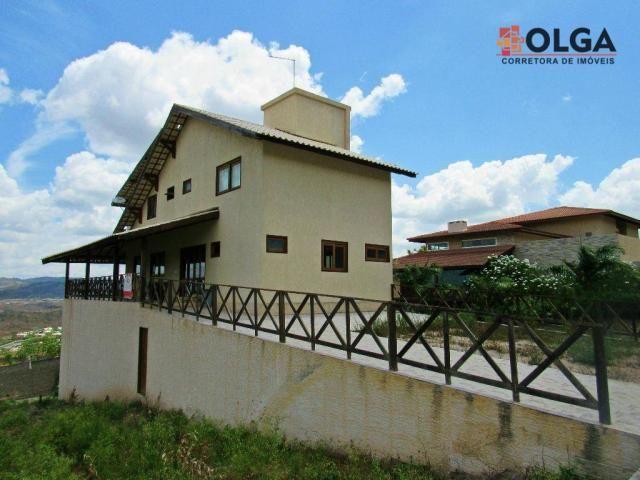Casa com 05 quartos em condomínio de alto padrão, à venda - Gravatá/PE