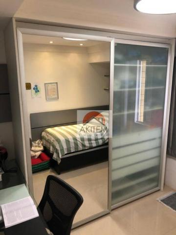 Apartamento na Beira Mar com 4 dormitórios à venda, 146 m² por R$ 620.000 - Casa Caiada -  - Foto 15
