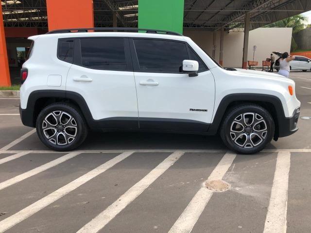 '' Praticamente Zero, Jeep Renegade Longitude 1.8 4X2 Automático 2017/2017 '' - Foto 5