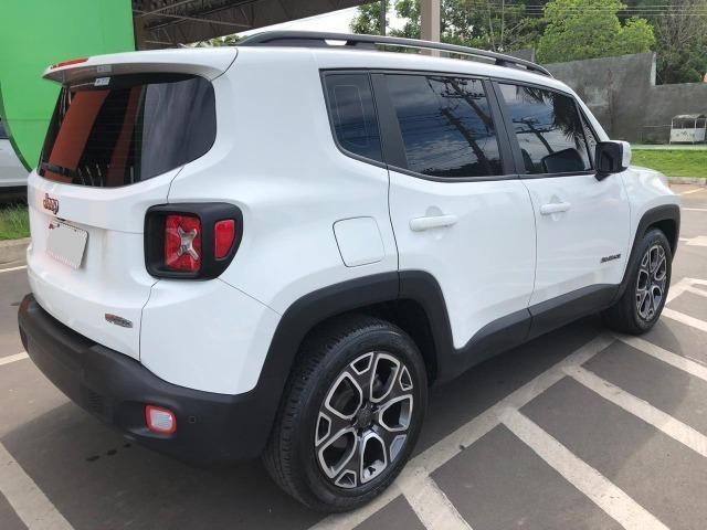 '' Praticamente Zero, Jeep Renegade Longitude 1.8 4X2 Automático 2017/2017 '' - Foto 6