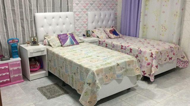 Cabeceiras de cama casal comum direto de fábrica