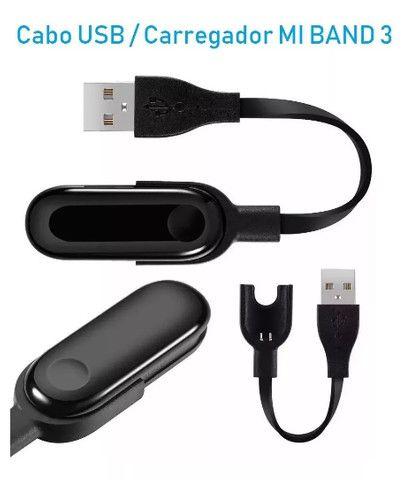 Cabo Usb Carregador Xiaomi Mi Band 3 - Foto 3