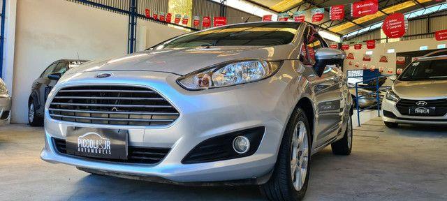 Ford New Fiesta SEL 1.6 Automático vendo troco e financio R$  - Foto 10