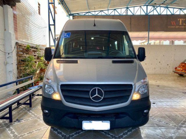 Mercedes Benz Sprinter Teto Alto 21 Lugares com 3 mil rodados - Foto 2
