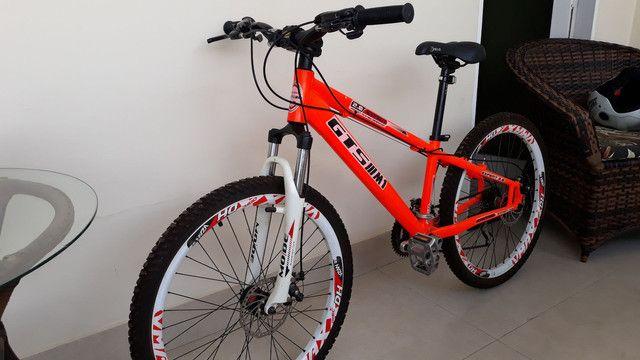 Vendo Bicicleta aro 26 quadro 18. Shimano