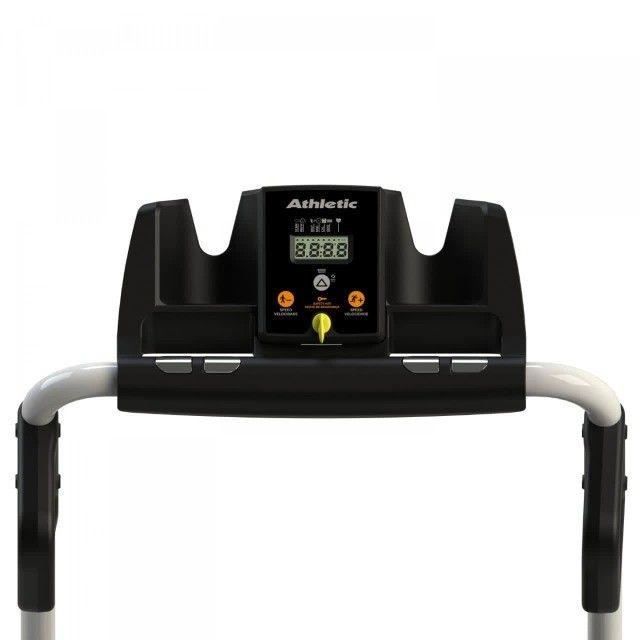 Esteira Athletic walker 10km/h - peso de usuário 120kg  -- caminhada e trote  - Foto 4
