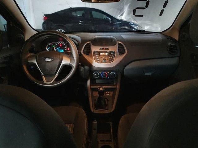 Ford Ka 1.0 Completo !!! Vistoriado 2021 !!! Todas as revisões feitas pela Autofort  - Foto 11