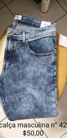 Calças novas masculinas  - Foto 3
