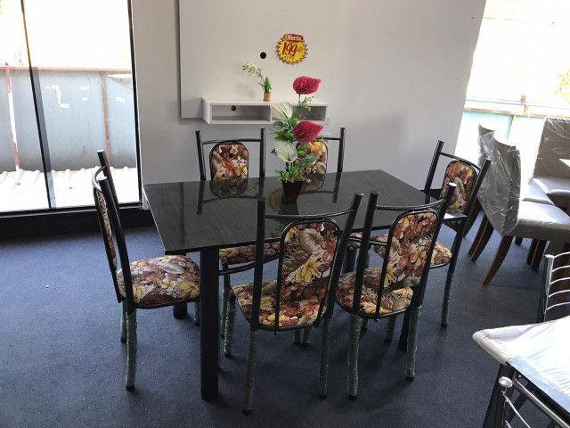 Mesa Isabela 6 Cadeiras 140x75 Florida - Foto 2
