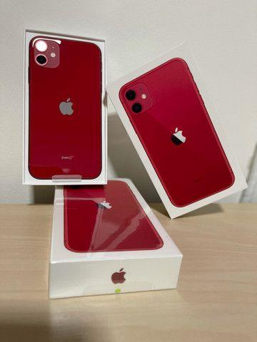 iPhone 11 64gb RED Lacrado  - Foto 5