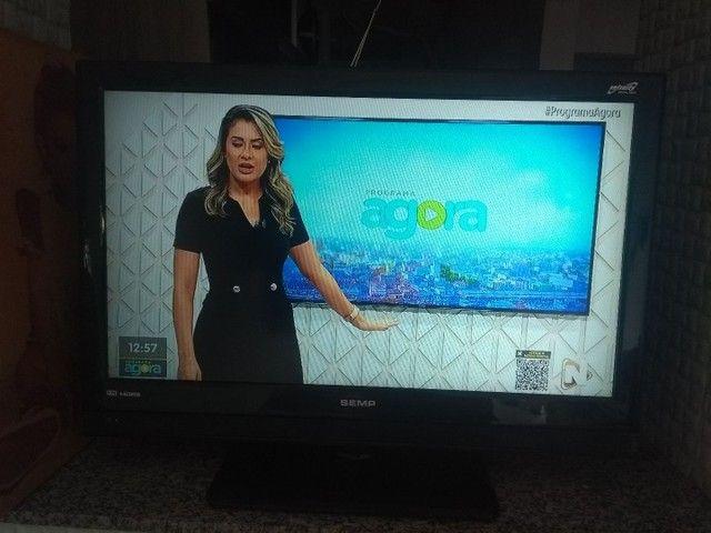 """Tv 32"""" LCD Semp Toshiba LC3245 c/ entradas HDMI - Foto 2"""