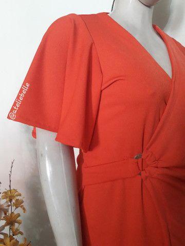Vestido em malha Crepe Neoprene - Foto 2
