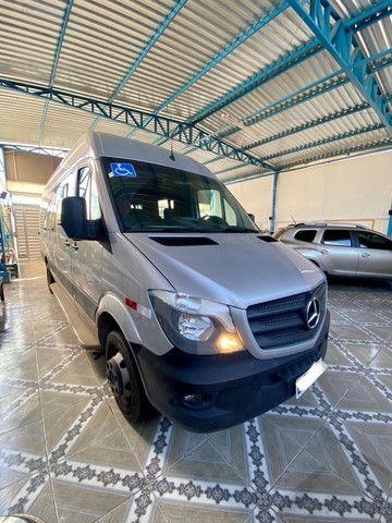 Mercedes Benz Sprinter Teto Alto 21 Lugares com 3 mil rodados - Foto 4