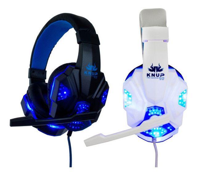 Fone De Ouvido Headset Gamer C/microfone Xbox One Pc Ps4 - Foto 2