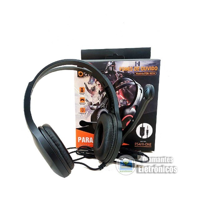 Fone Gamer Para Xbox One Series Playstation 5 PC