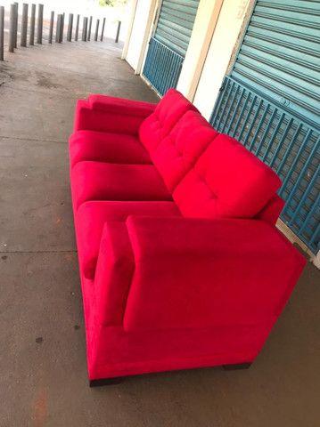 Sofá 3 Lugares Super Confortável - Foto 4