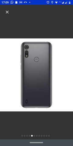 Motorola E6s direto da loja