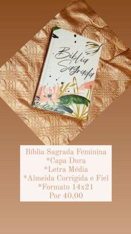 Bíblia Sagrada   ACF   Letra Média   Capa Dura   Floral<br><br>
