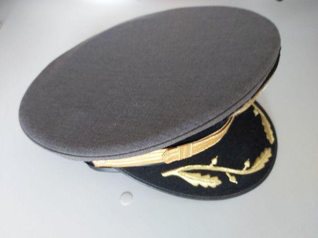 Quepe do exército- Cinza com símbolo - Foto 2