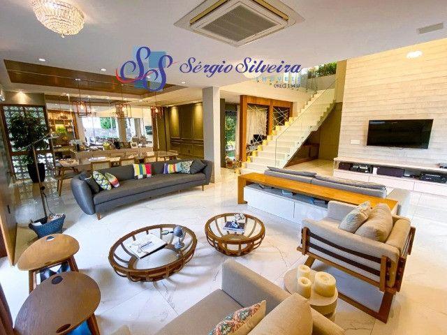 Casa no Alphaville Fortaleza mobiliada e climatizada, com piscina privativa, alto padrão - Foto 5