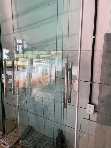 Porta de correr em Vidro temperado 10mm - Foto 2
