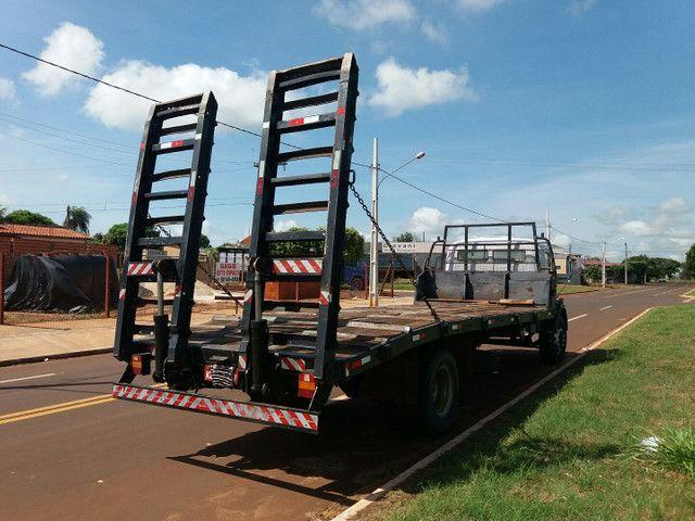Caminhão Plataforma MB 1314 ano 87 - Foto 4