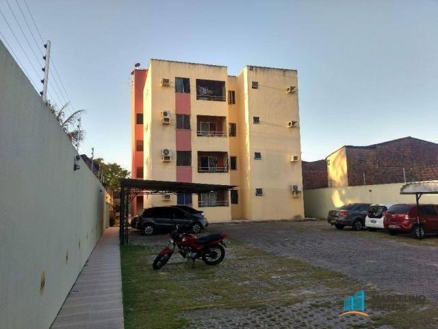Apartamento 02 quartos sendo 01 suíte + wc. social, R$ 139mil. Mondubim, Fortaleza-Ce.