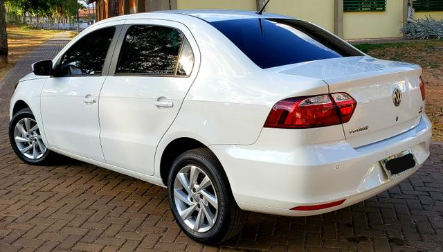 Aceita Troca VW Voyage 1.6 MSI Flex Automático Único Dono Baixo Km - Foto 2