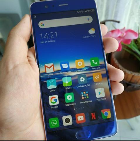 Xiaomi Mi Note 3 Azul edição limitada - perfeito completo + capinhas