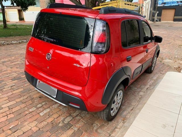 Lindo Fiat Novo Uno Way E 1.0 Flex 2017-2017, completo - Foto 6