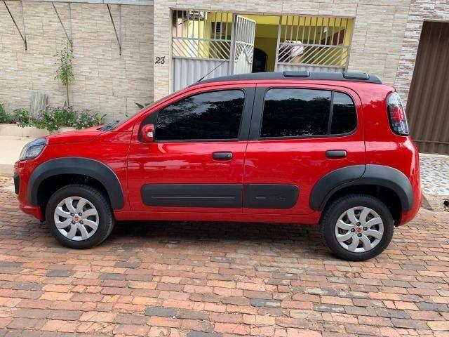 Lindo Fiat Novo Uno Way E 1.0 Flex 2017-2017, completo - Foto 2