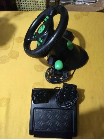 V/T Volante Xbox 360/PS3/PS2/PC - Foto 2