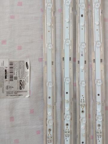 Kit Barras de LED TV Samsung modelo UN48H4203AG usados FUNCIONANDO - Foto 2