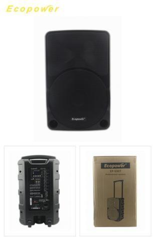 Caixa De Som Amplificada Ecopower 10 polegadas Bluetooth- Nova