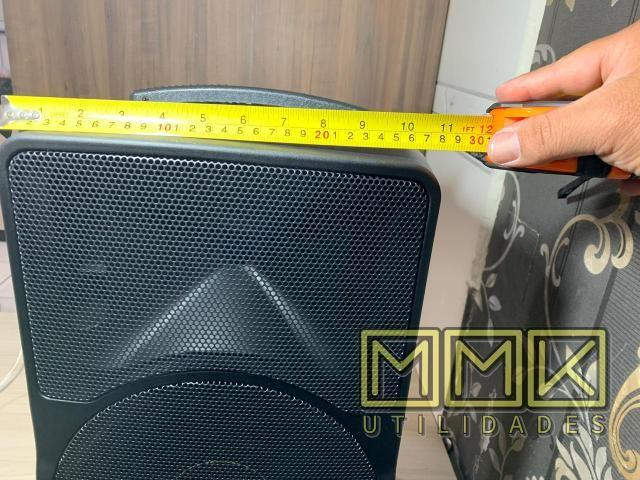 Caixa De Som Amplificada Ecopower 10 polegadas Bluetooth- Nova - Foto 6