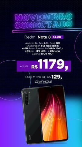 Redmi Note 8 64gb promoção, cia do iPhone - Foto 2