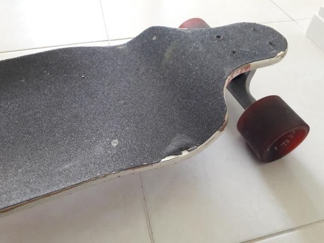 Skate longboard koston rebaixado - Foto 6