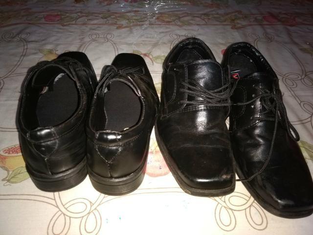 Par de sapatos social n 39