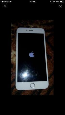 IPhone 6plus 32gigas poucas marca de uso pra vende ou troca