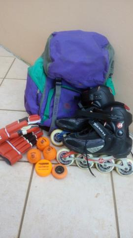 Patins in line, kit hoquey