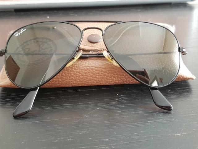 Óculos de sol Ray Ban Original Aviador feminino - Bijouterias ... 123cdc0b2d