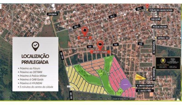 Vale da Serra Loteamento Caldas Novas - Lote a Venda no bairro Estancia Boa Vist... - Foto 5