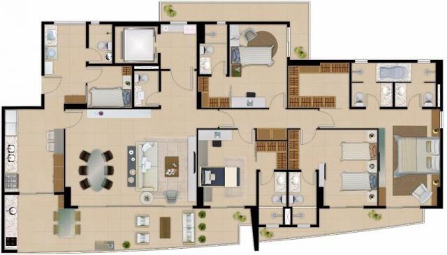 Apartamento residencial à venda com 04 suítes, aldeota, fortaleza. - Foto 19