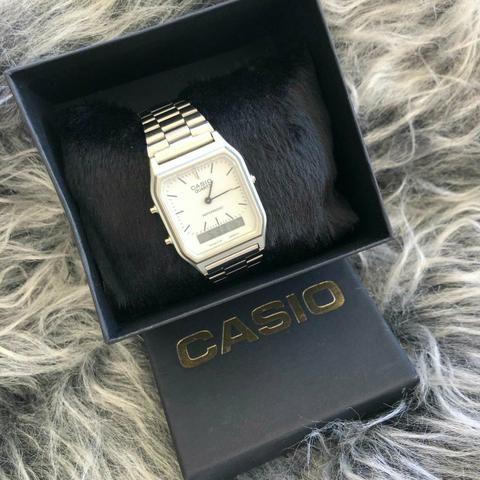 da8b132f1 Relógio Casio Vintage - Bijouterias